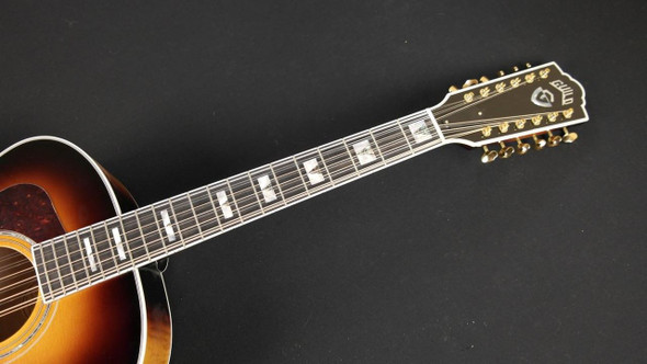 Guild F-412 Burst D-TAR Lefty - Antique Burst