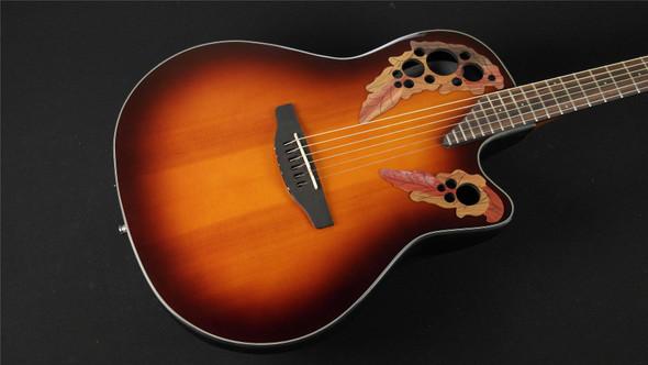 Ovation CE44-5 Acoustic-Electric Guitar - Tobacco Burst (690)