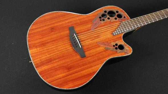 Ovation CE44P-PD Acoustic-Electric Guitar - Padauk (253)