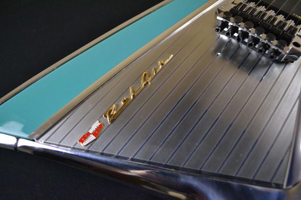 "American Showster ""57 Chevy"" BelAir Guitar - Kramer - Larkspur Blue - 1992 - USED"