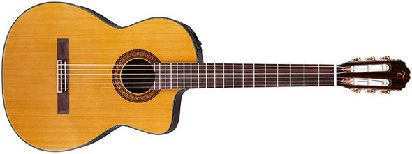 Takamine TC132SC - Pro Series Classical Cutaway Body - Natural