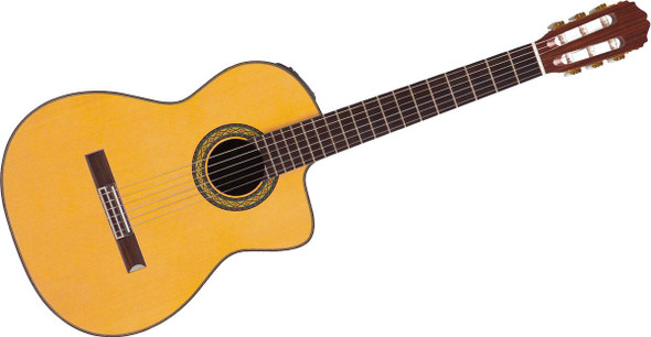 Takamine TH5C - Pro Series Classical Cutaway Body - Natural