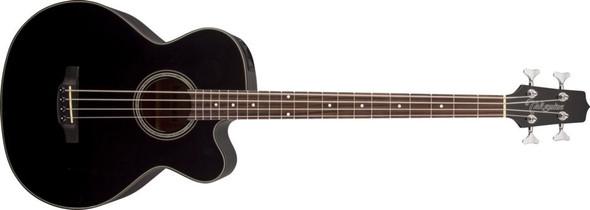 Takamine GB30CE-BLK G Series Acoustic Electric Bass Guitar, Venetian Cutaway- Black