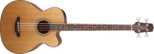 Takamine GB30CE-NAT G Series Acoustic Electric Bass Guitar, Venetian Cutaway- Natural