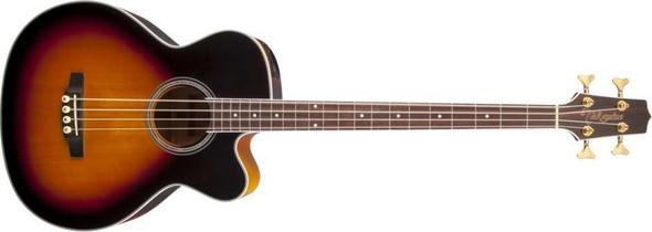 Takamine GB72CE-BSB G Series Acoustic Electric Bass Guitar- Black Sunburst