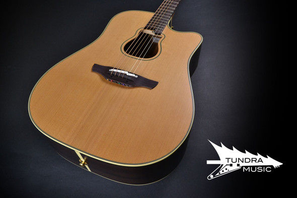 Takamine GB7C Pro Series Garth Brooks Dreadnought, Natural With Case