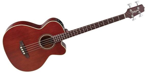 Takamine PB5-ANS Pro Series Jumbo Cutaway Acoustic/Electric Bass Gloss Antique Natural Stain