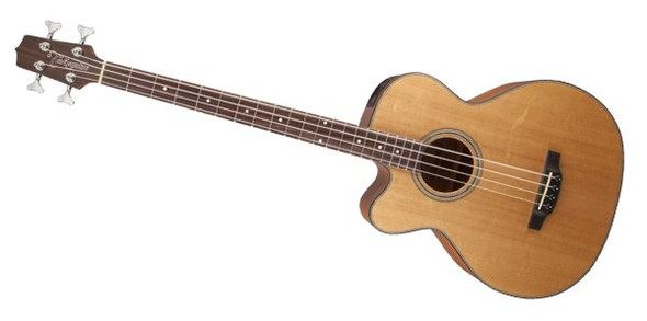 Takamine GB30CELH-NAT 4-String Acoustic-Electric Bass Guitar Left-Handed Acoustic Bass- Natural