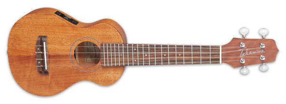 Takamine EGU-S1 Mahogany Acoustic-Electric Ukulele Natural