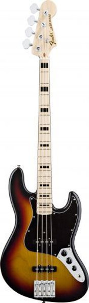 Fender Geddy Lee Jazz Bass Maple Fingerboard 3-Color Sunburst 0147702300