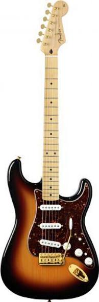 Fender Deluxe Players Strat - Maple Fingerboard - 3-Color Sunburst