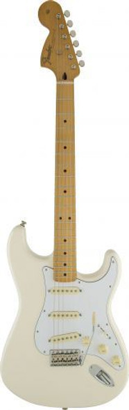 Fender Jimi Hendrix Stratocaster - Maple - Olympic White GET YOURS FIRST! ORDER NOW