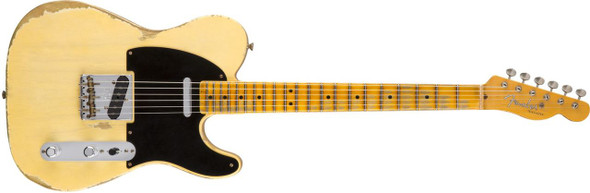 Fender Custom Shop 1951 Heavy Relic Telecaster - Faded Nocaster Blonde