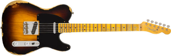 Fender Custom Shop 1951 Heavy Relic Telecaster - Faded 2-Tone Sunburst