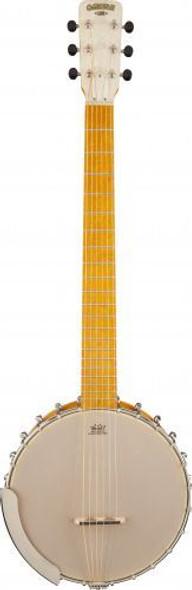 "Gretsch G9460 ""Dixie 6"" Guitar-Banjo Maple Fingerboard Rolled Brass Tone-Ring"