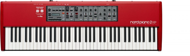 Nord - Piano 2 - 73-note weighted hammer action piano,split/layer