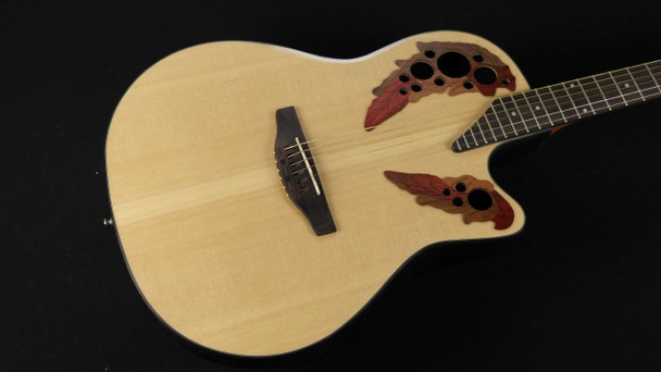 Applause by Ovation AE44-4 Elite Mid Depth Bowl Acoustic-Electric Guitar - Natural (172)
