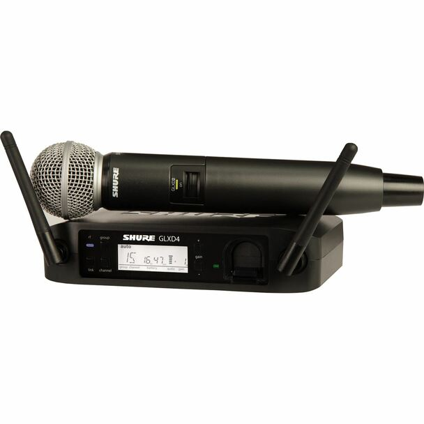 Shure GLXD24/SM58-Z2 Wireless Handheld System with SM58 Microphone