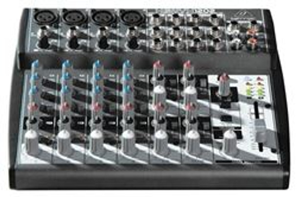 Behringer Premium 12-Input 2-Bus Mixer with XENYX Mic Preamps and British EQs