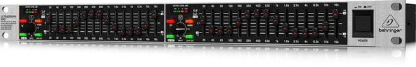 Behringer 15-Band Stereo Graphic Equalizer with FBQ Feedback Detection System