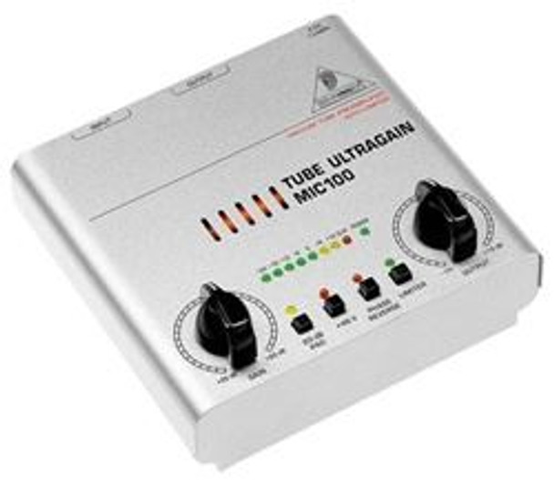 Behringer Audiophile Vacuum Tube Preamplifier with Limiter