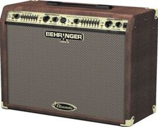 Behringer 90-Watt 2-Channel Stereo Acoustic Instrument Amplifier with Dual FX and FBQ