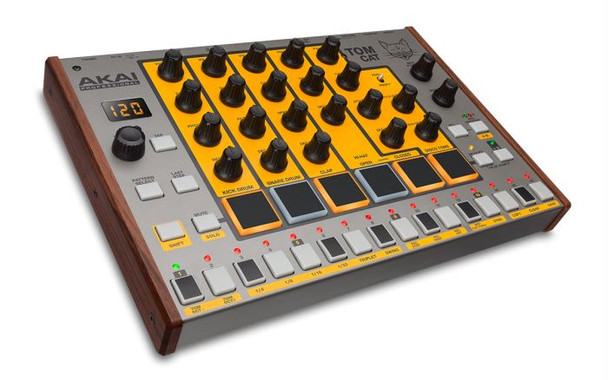Akai Tom Cat Analog Drum Machine with Built-in Percussion Voices