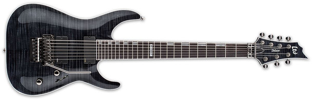 ESP/LTD H-1007 SEE THRU BLACK - LH1007FRSTBLK