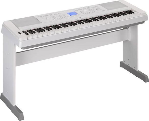 Yamaha DGX-660 88-key Arranger Piano with Stand - White