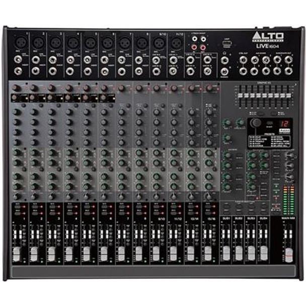 Alto Live 1604 Professional 16-Channel/4-Bus Mixer -LIVE1604XUS