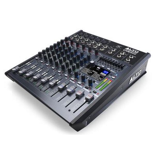 Alto Live 802 Professional 8-Channel/2-Bus Mixer  -LIVE802X110