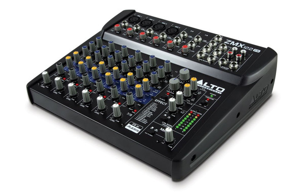 Alto ZMX122FX 8-CHANNEL COMPACT MIXER WITH EFFECTS -ZMX122FXX110