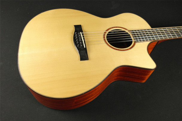 Eastman AC522CE-12 12-String Acoustic Electric - Natural (752)