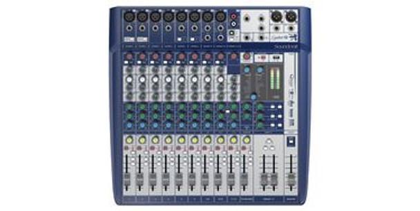 Soundcraft Signature 12 12 ch. Compact Analogue Mixer