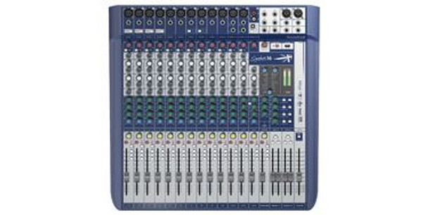 Soundcraft Signature 16 16 ch. Compact Analogue Mixer