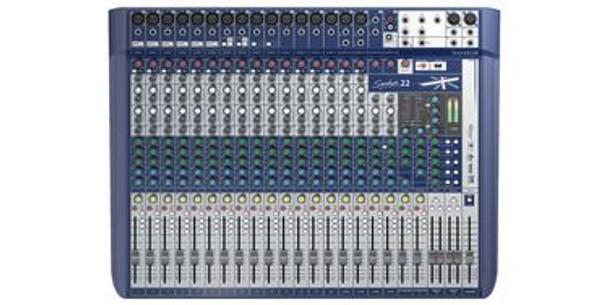 Soundcraft Signature 22 22 ch. Compact Analogue Mixer