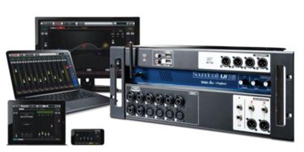 Soundcraft Ui-16  15 in Remote Digital Mixer
