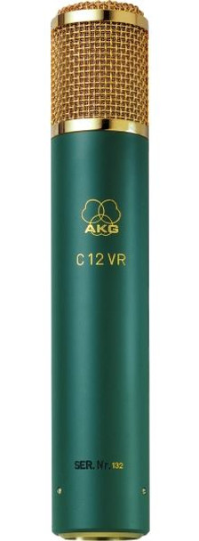 AKG C12 VR Reference multipattern tube studio condenser microphone w/ nine polar patterns