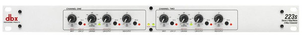 DBX 223s Stereo 2-way, Mono 3-way Crossover