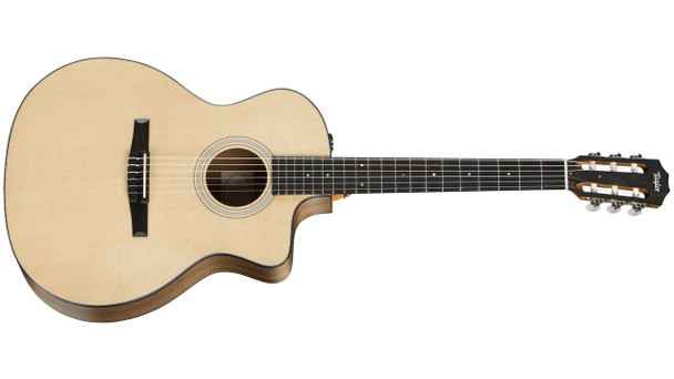 Taylor 114ce-N Grand Auditorium Cutaway Acoustic/Electric - Natural