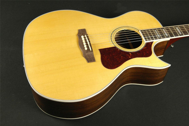 Guild USA F-47RC with DTAR Grand Orchestra Blonde with Case MADE IN NEW HARTFORD (001)