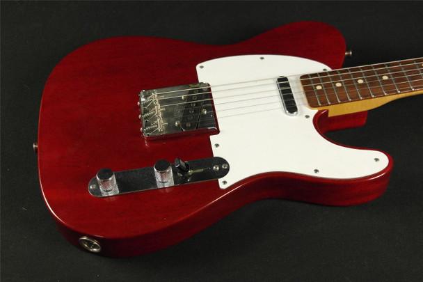 Fender Custom Shop '63 Telecaster Closet Classic Trans Red Masterbuilt by Stephen Stern!!!! RARE! (563)