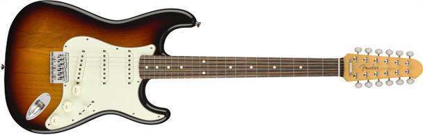 Fender Strat XII, Rosewood Fingerboard, 3 Color Sunburst NEW Summer 2018