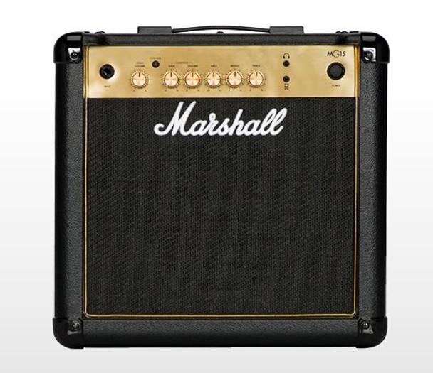 "Marshall MG15G 15W Combo, 2 Channels, 8 Speaker"""