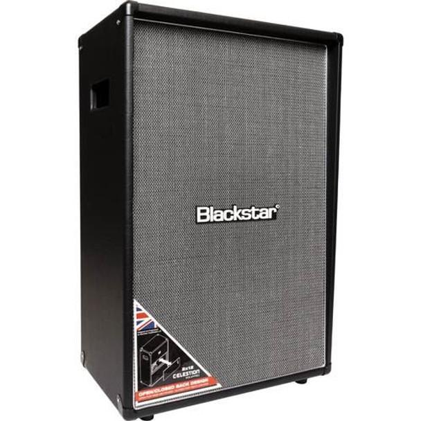 "Blackstar HT212VOC MKII 2x12"" Vertical Slanted Front Extension Cabinet"