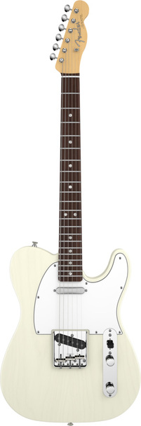 Fender American Vintage 64 Telecaster Round-Lam RW Fingerboard Aged White Blonde