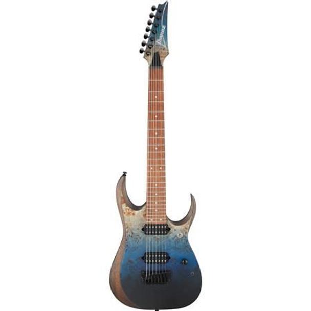 Ibanez RGD7521PBDSF RGD Standard 7str Electric Guitar - Deep Seafloor Fade Flat