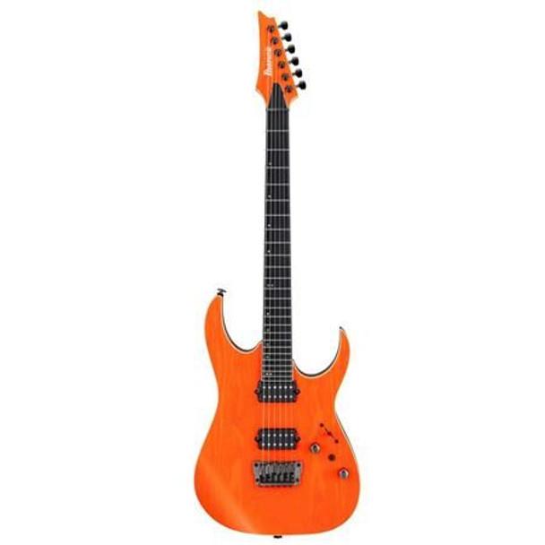 Ibanez RGR5221TFR RG Prestige 6str Electric Guitar w/Case - Transparent Fluorescent Orange