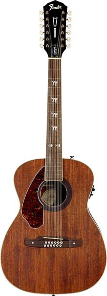 Fender Tim Armstrong Left-Handed Hellcat 12-String Acoustic-Electric Guitar Nat.