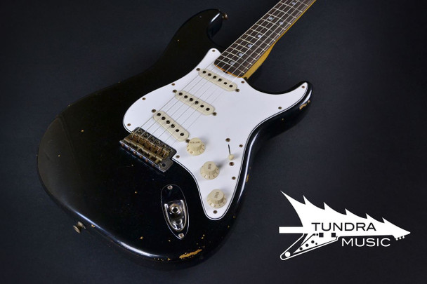 Fender Custom Shop 1969 Stratocaster Relic - Black